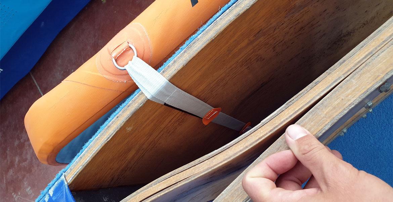 Particolare di Cinghie AirCOVER | Accessori air track Air Track Italia®