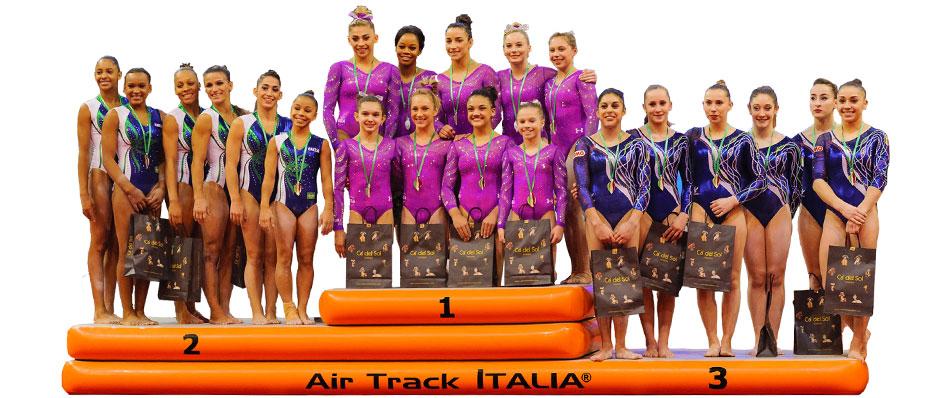 AirPODIUM | Podio per le premiazioni di Air Track Italia®