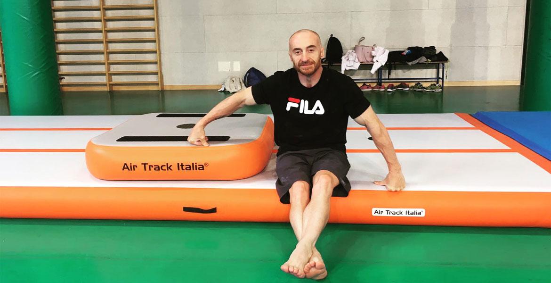 Jury Chechi con MAXI | Air Track Air Track Italia®