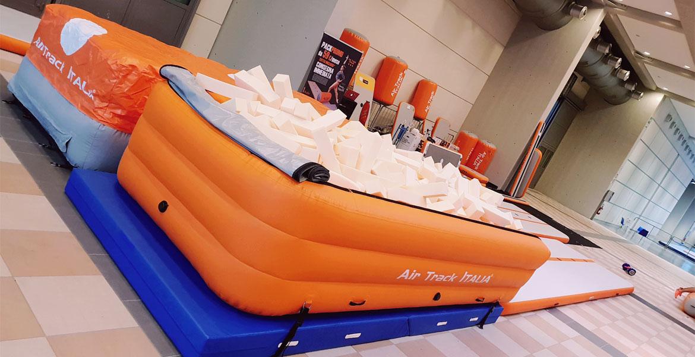 Riempimento UPIT Foam Air Track Italia®