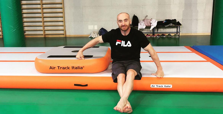 Yuri Chechi con CUBOTTO | Air track Air Track Italia®