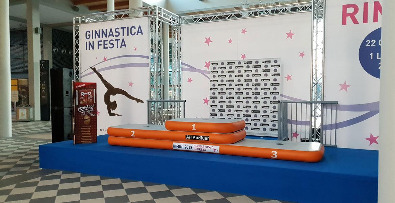 AirPODIUM | Podio gonfiabile Air Track Italia®