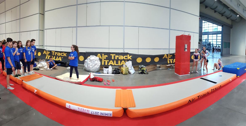 Uso AirPODIUM | Air Track Air Track Italia®