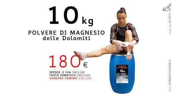 MAGNESIO 10 | Polvere di magnesio Air Track Italia®