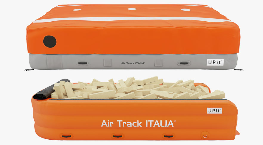 UPIT Cloud and UPIT Foam | Landing Pits Air Track Italia®