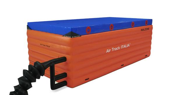 RIALZONE Air Track Italia | Tappeto di atterraggio gonfiabile e regolabile in altezza
